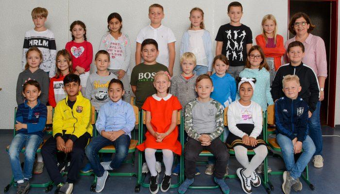 Klasse 4a mit Frau Jansen
