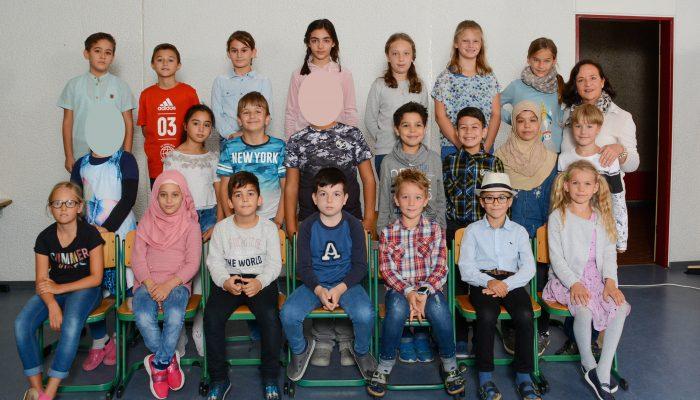 Klasse 4b mit Frau Schauff-Ecker